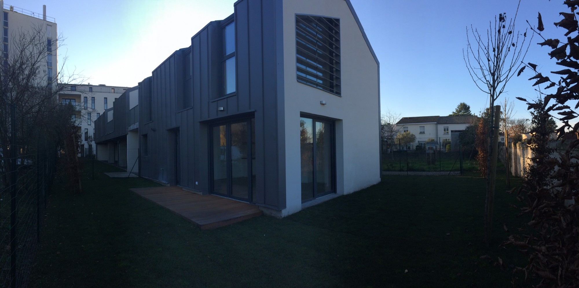 Location maison t4 f4 bordeaux caud ran bru immobilier for Maison cauderan